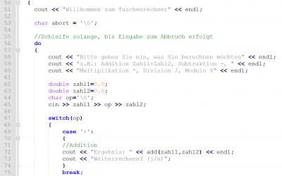 C++ Programmierlehrgang (Abend- und Wochenendtermine)