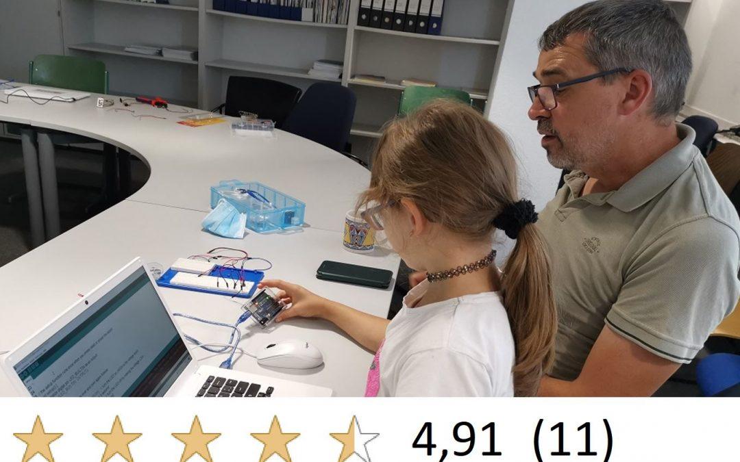 1,5h Einführungs-Workshop Arduino – speziell für Erwachsene mit Schulkind
