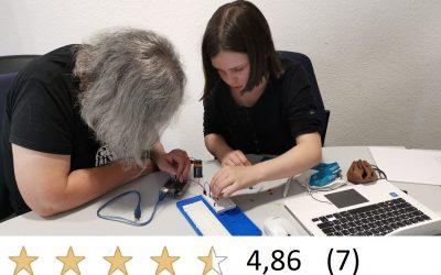 3h-Schnupper-Workshop (auch mit Schulkind): Arduino-Programmierung in C++