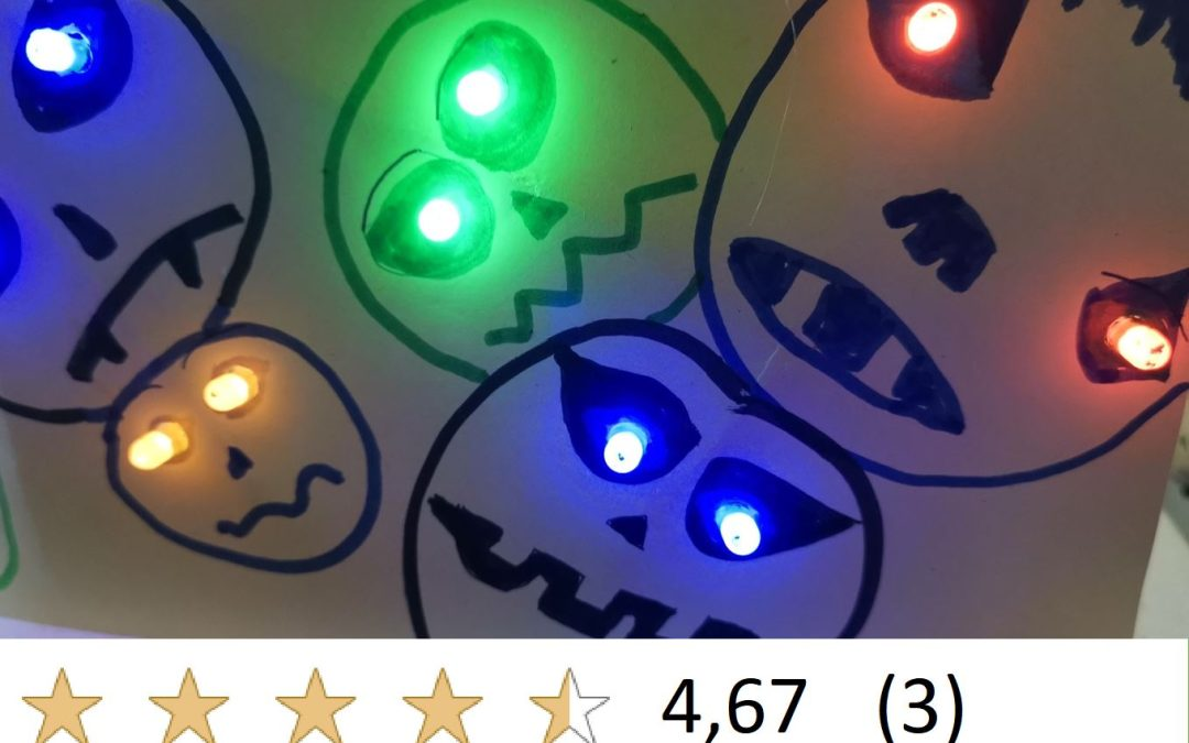 1,5h elektronische Basteleien mit LEDs (nicht nur) für Halloween